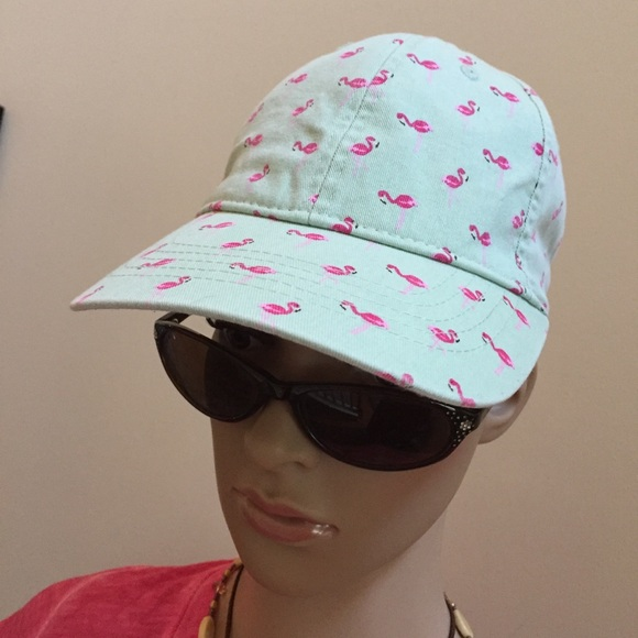 Pink Flamingo Design Ball Cap 091f778c4ee